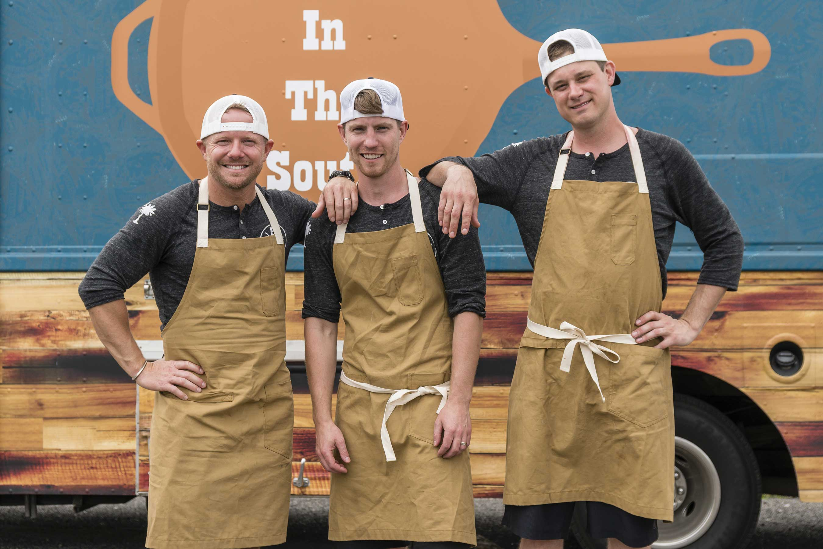 Team Braised In The South on Food Network's The Great Food Truck Race