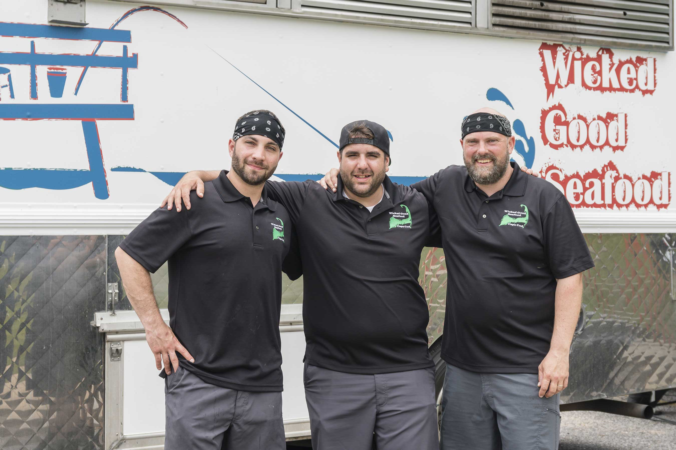 Team Wicked Good Seafood on Food Network's The Great Food Truck Race