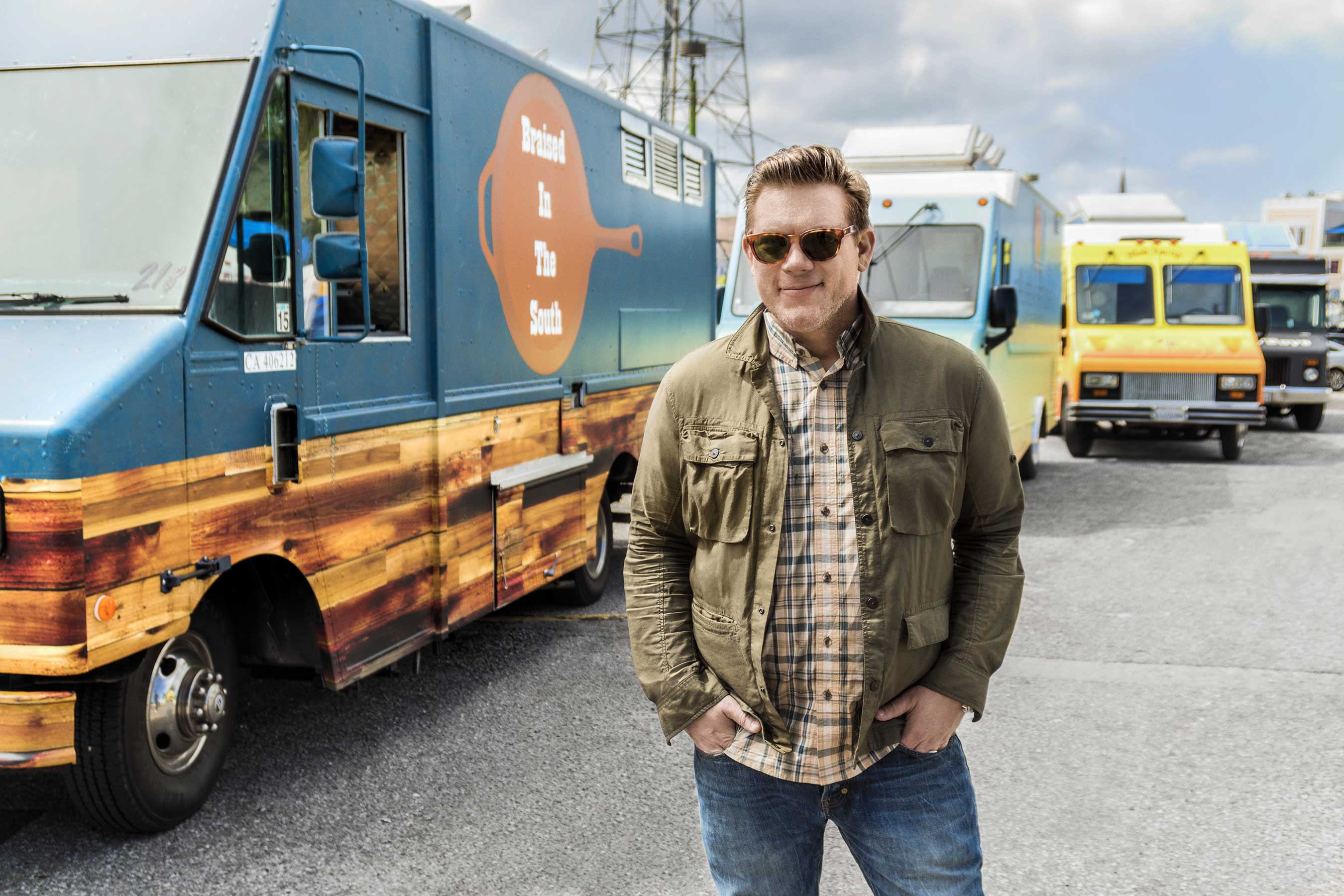 Tyler Florence on Food Network's The Great Food Truck Race