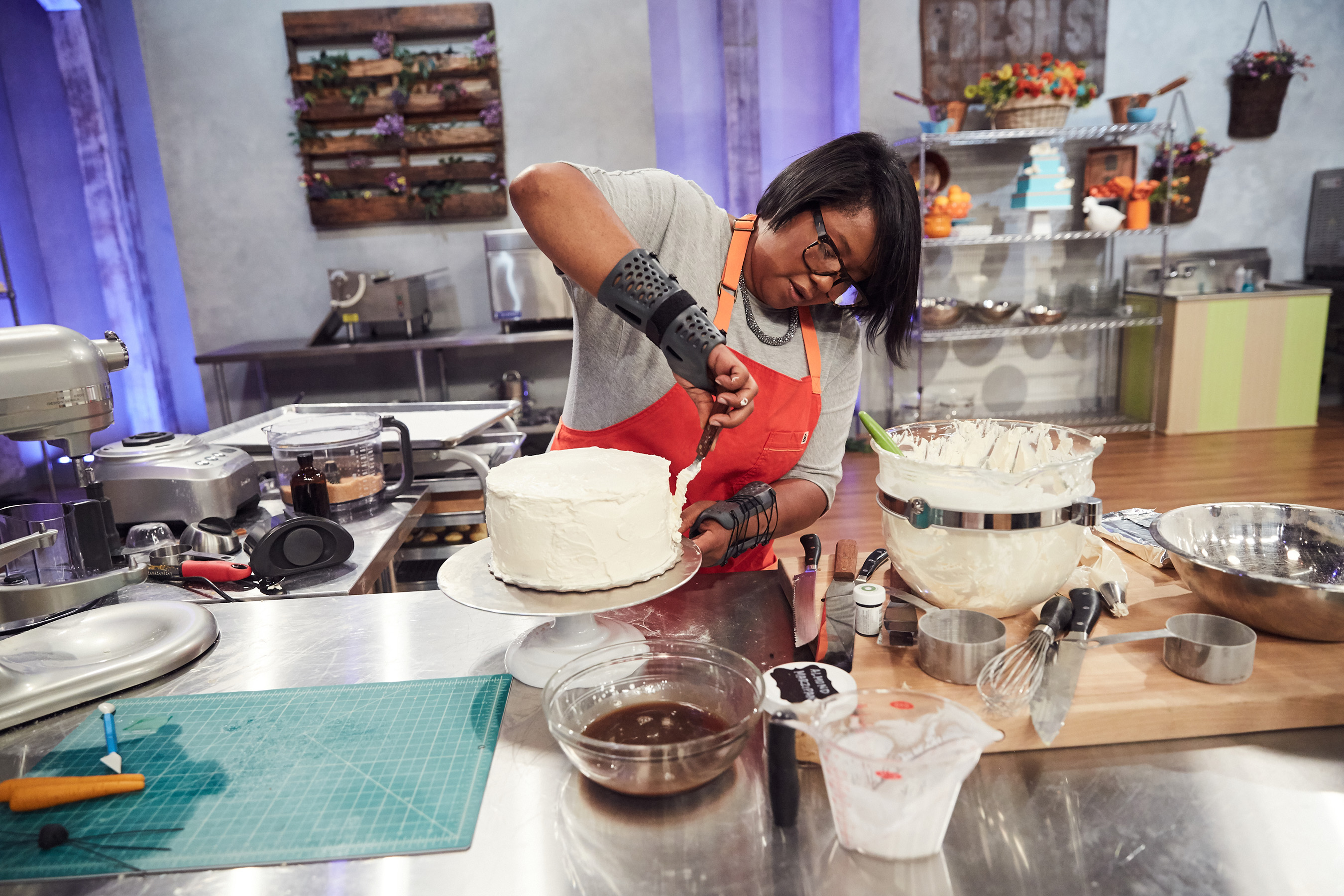 Competitor Samirah Williams on Food Network's Spring Baking Championship