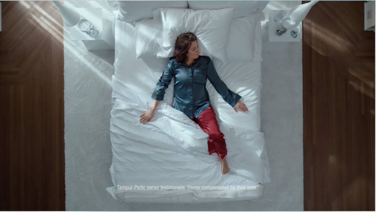 Michelle Salt, a Paralympian, realtor and speaker is one of nine Tempur-Pedic owners featured in the brand's new campaign