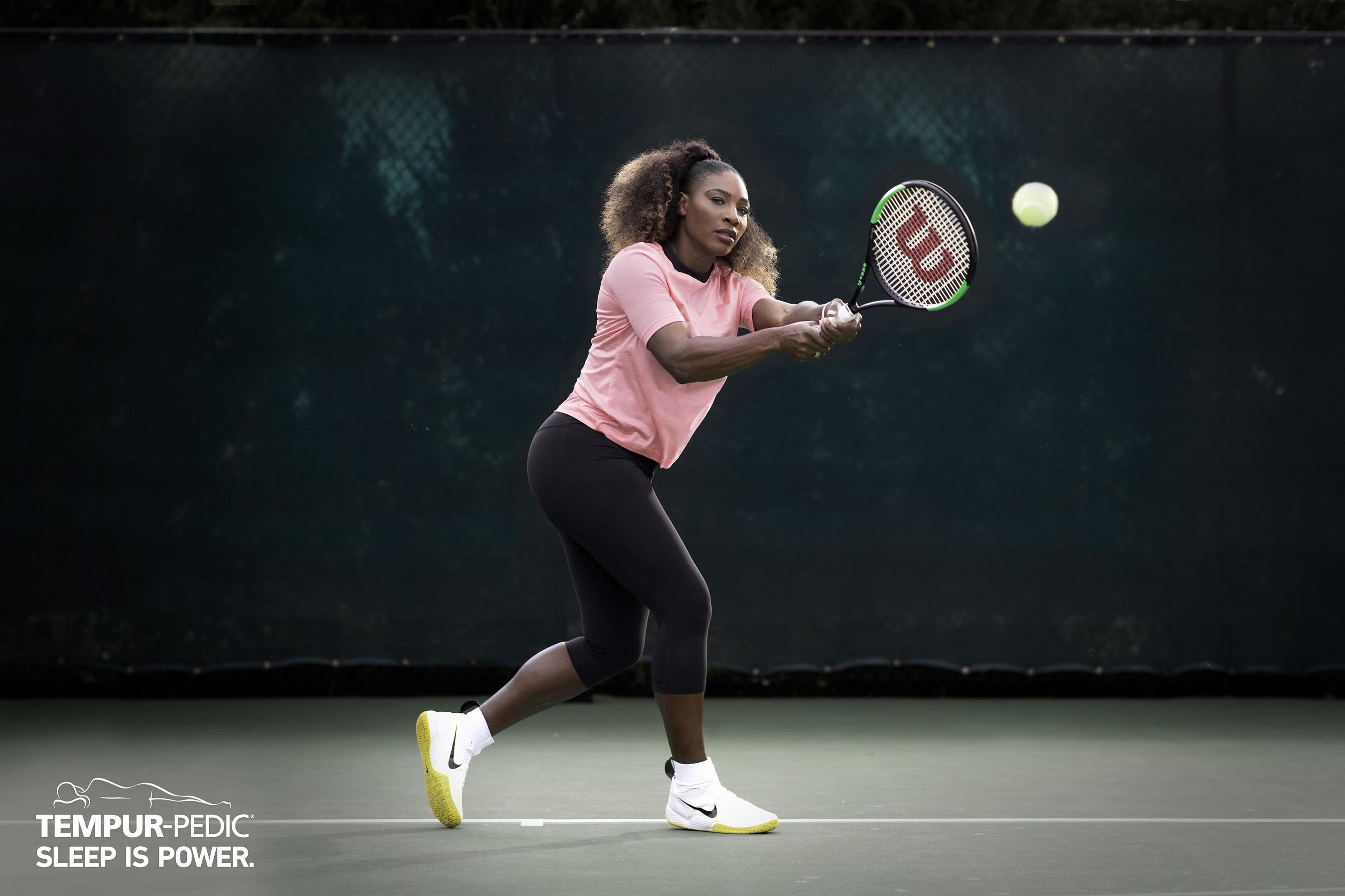 Serena Williams, tennis icon and Tempur-Pedic owner for 10 years, teams up with Tempur-Pedic to amplify the brand's new