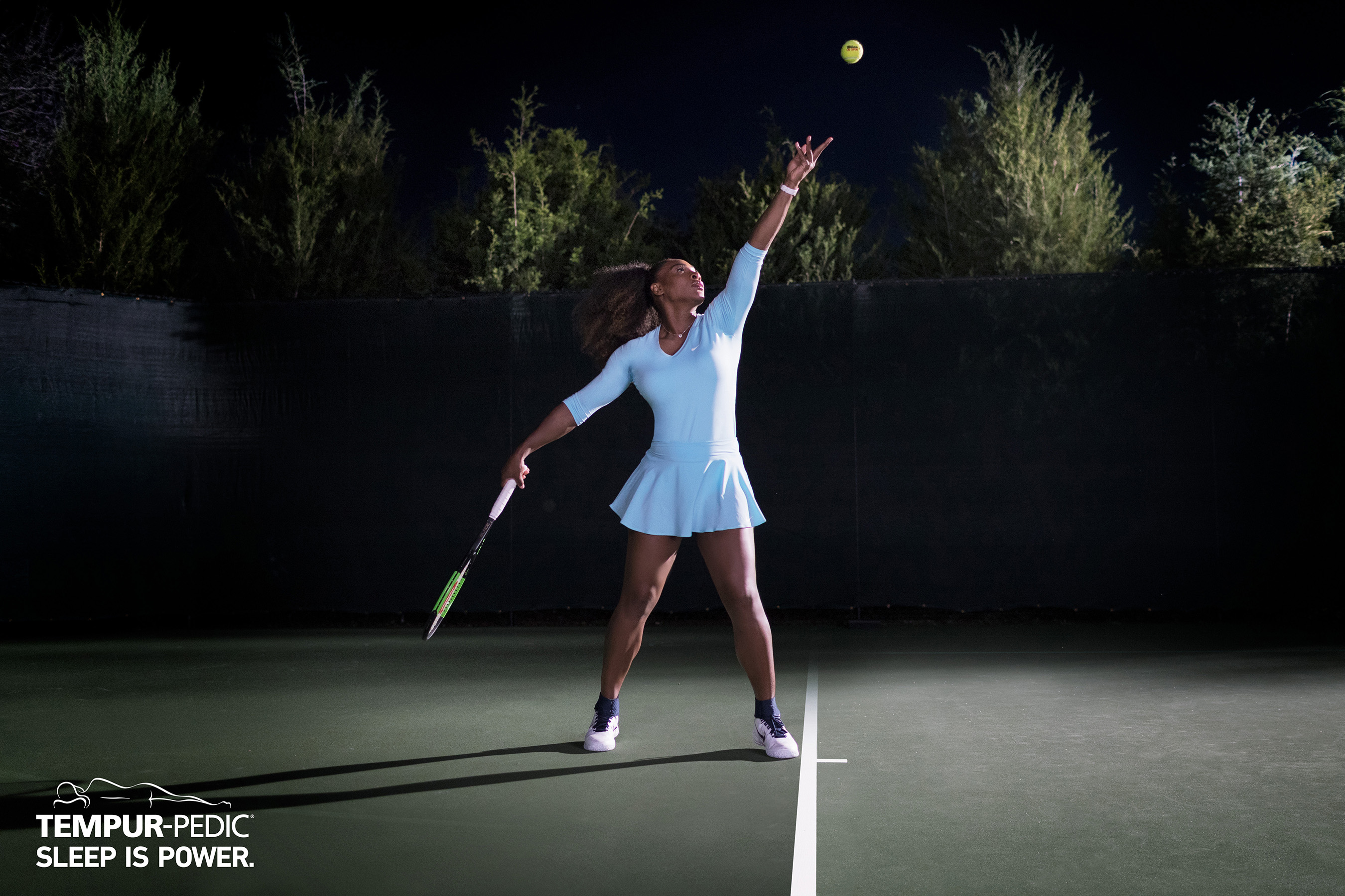 Tempur-Pedic's collaboration with Serena Williams, a Tempur-Pedic owner for more than a decade, is part of an integrated marketing campaign that features the tennis great and highlights how Tempur-Pedic beds adapt to your unique body shape, weight and temperature to give you life-changing sleep every night.