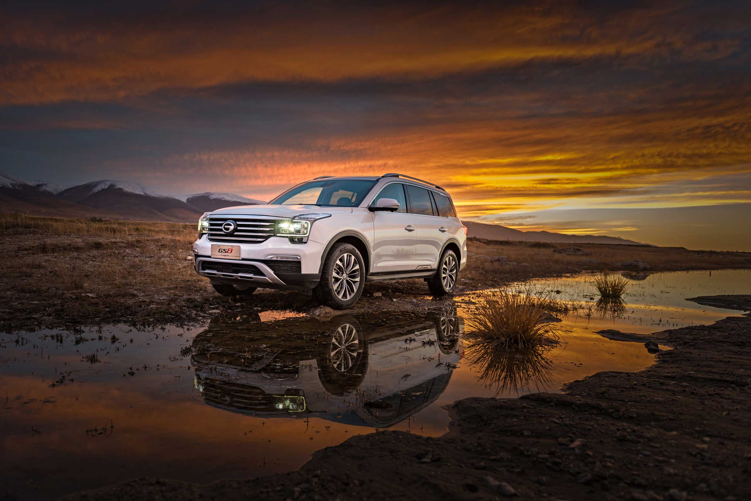 GAC Motor's GS8: Powerful and Smooth Ride