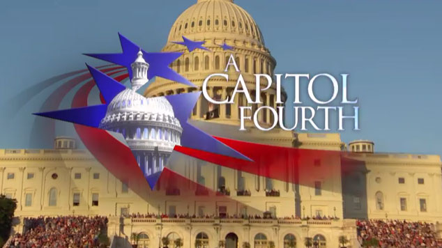 PBS' A Capitol Fourth features an all-star musical and fireworks extravaganza to kick off the country' 241st birthday live from the West Lawn of the U.S. Capitol.
