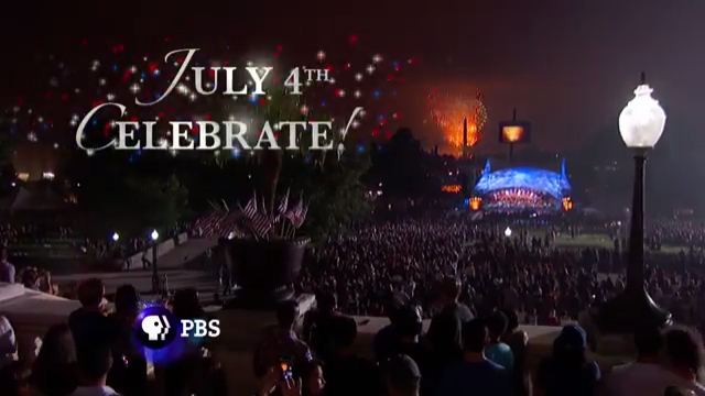 The 27th annual edition of PBS' A Capitol Fourth kicks off the country's 241st birthday with an all-star musical and fireworks extravaganza live from the West Lawn of the U.S Capitol Tuesday, July 4 from 8:00 to 9:30 p.m. ET.