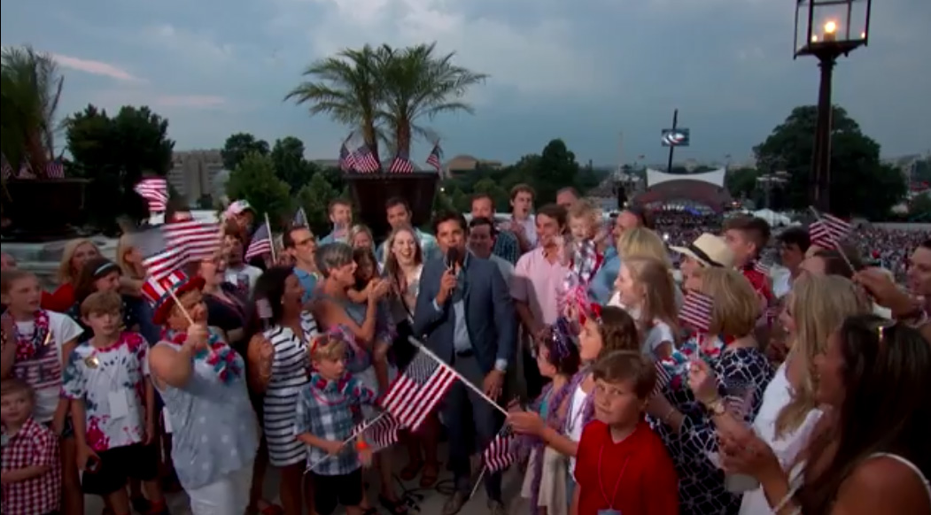 John Stamos Returns to Host America's Independence Day Celebration for our Entire Nation