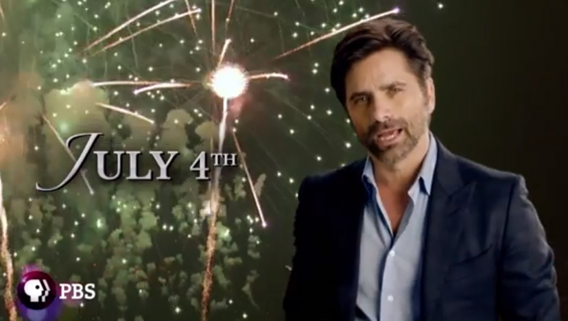 John Stamos hosts A Capitol Fourth on PBS