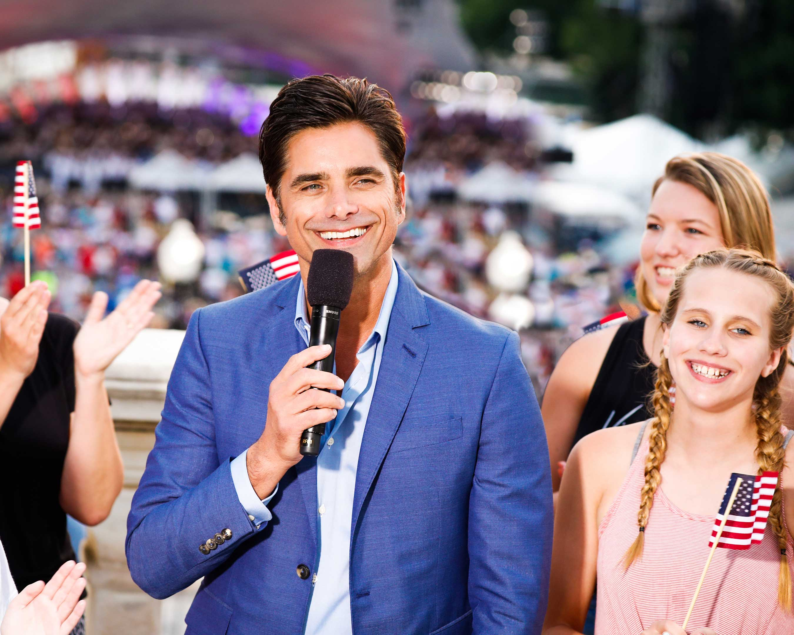 Two-time Emmy Award-nominated actor and producer John Stamos (Netflix's YOU, FULLER HOUSE, ER) returns to host A CAPITOL FOURTH, the country's longest-running live national July 4th TV tradition.