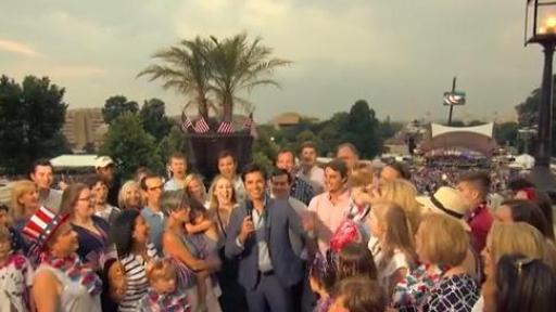 Play Video: John Stamos Returns to Host PBS' A Capitol Fourth