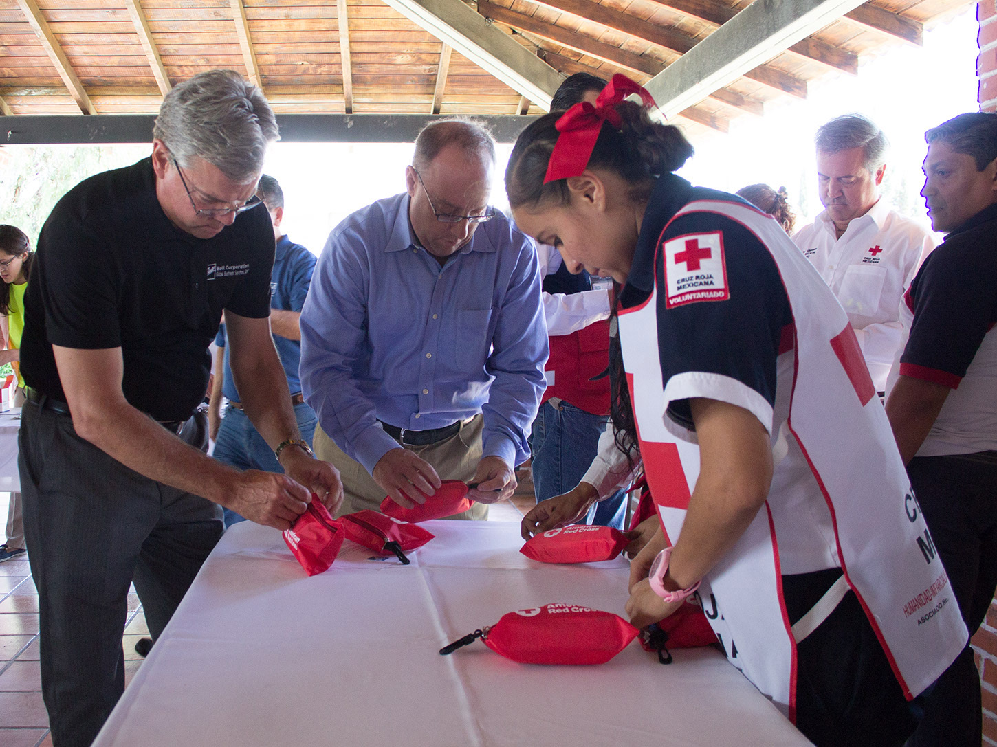 Disaster preparedness is a focus of Ball's global corporate citizenship program. Ball employees and executives recently joined together to build first aid kits for Mexico's earthquake victims.