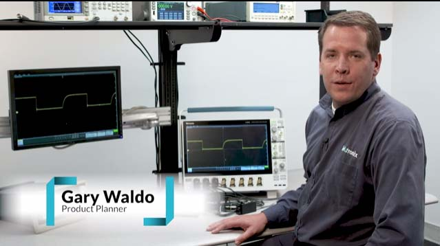 The new Tektronix 5 Series oscilloscope redefines ease of use. This video provides a short overview of the capabilities.