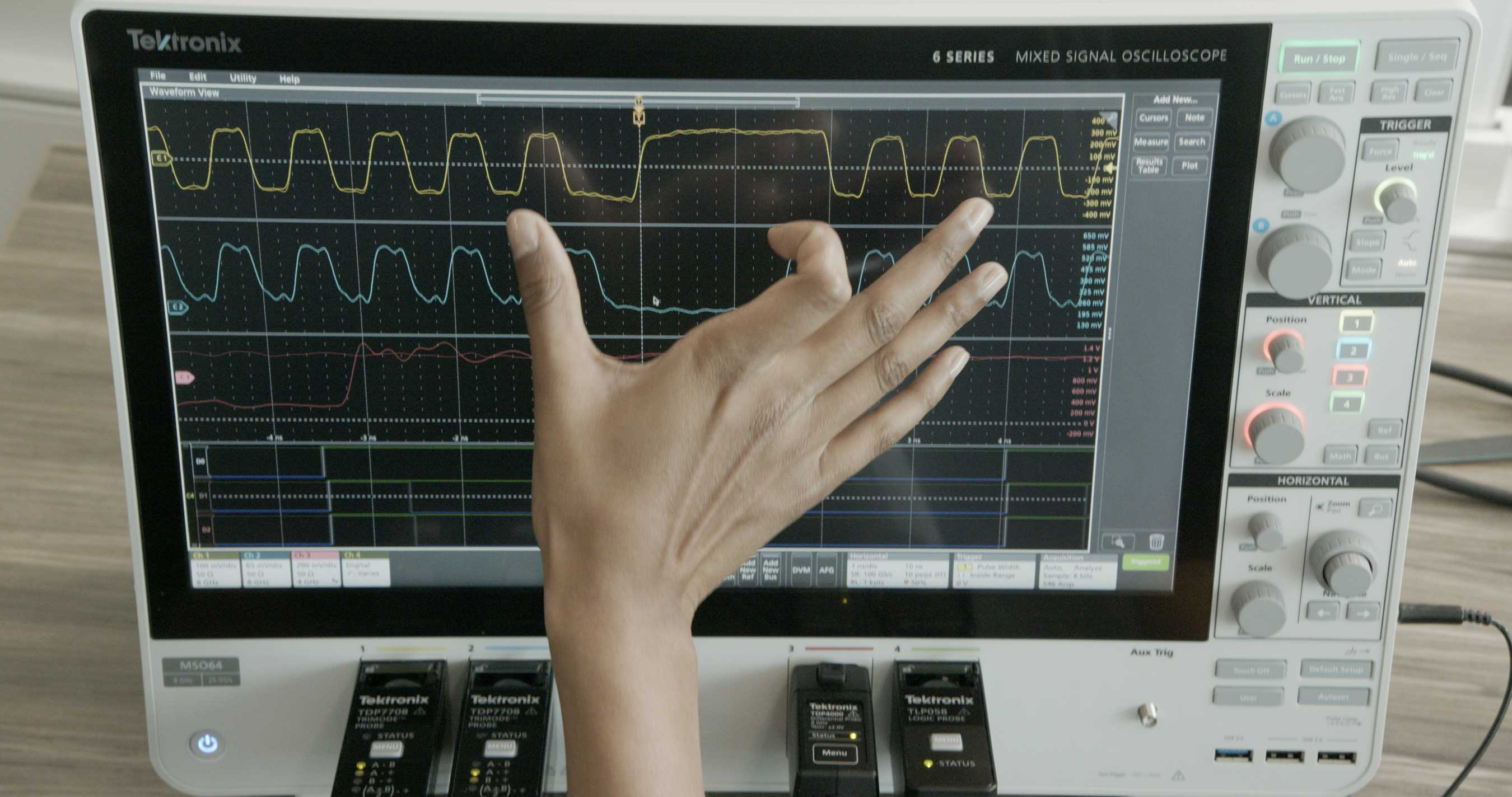 6 Series MSO can cause oscilloscope envy