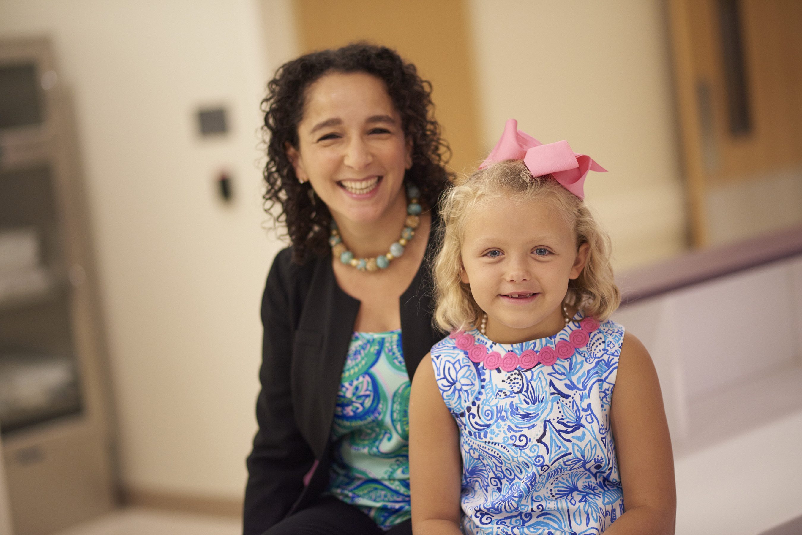 Dr. Yael Mosse and Edie Gilger