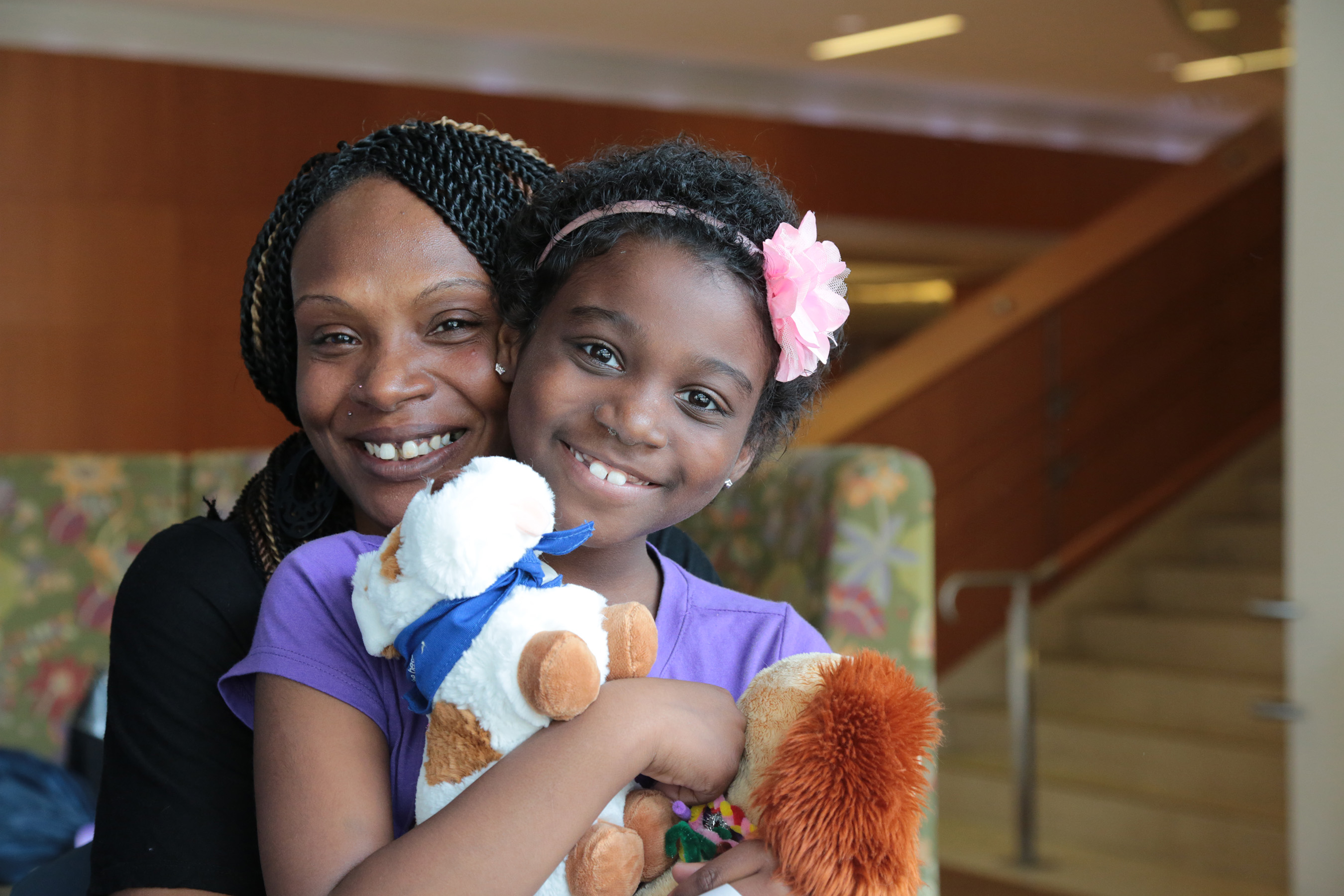 Northwestern Mutual supports strong moms like Fonta Taylor, who stood by daughter Reniyah's side as she battled cancer. The company's Childhood Cancer Program celebrates five years of providing family support and research funding.