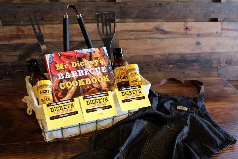 Lucky participants could win Free Barbecue for a Year or Dickey's Pit Master Packs, including Mr. Dickey's signature cookbook, rib rub, Dickey's original barbecue sauce, a gift card and more.