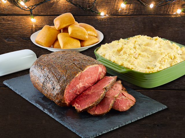 For the second year, Dickey's is offering a savory Prime Rib for the holidays.