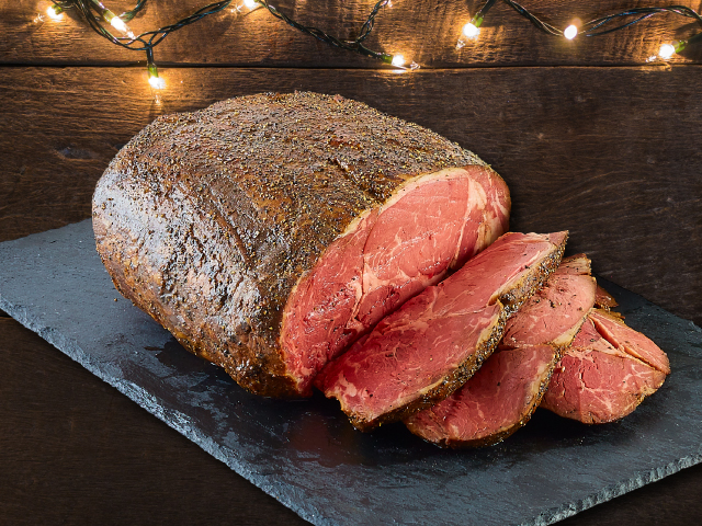 Guests can deck the table this holiday season with a single Prime Rib or turn it into a Holiday Feast.