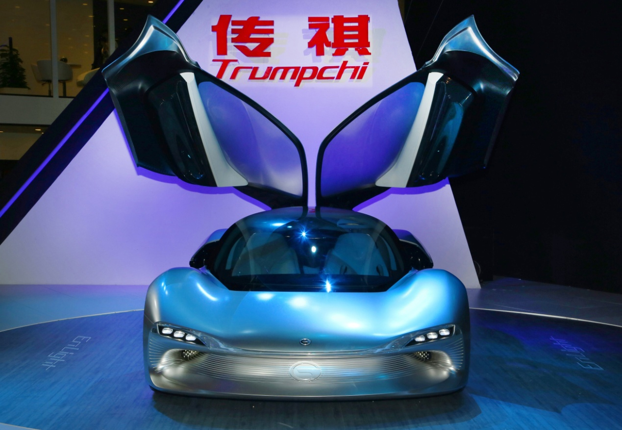 GAC Motor's pioneering supercar EnLight
