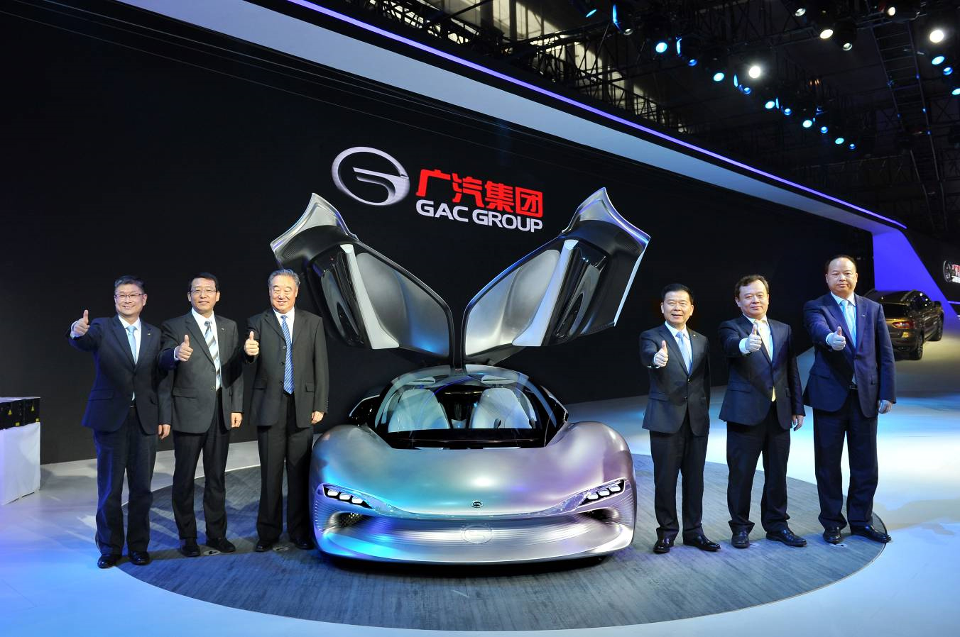 GAC Motor unveils EnLight, its first smart electric concept car, at Auto Guangzhou