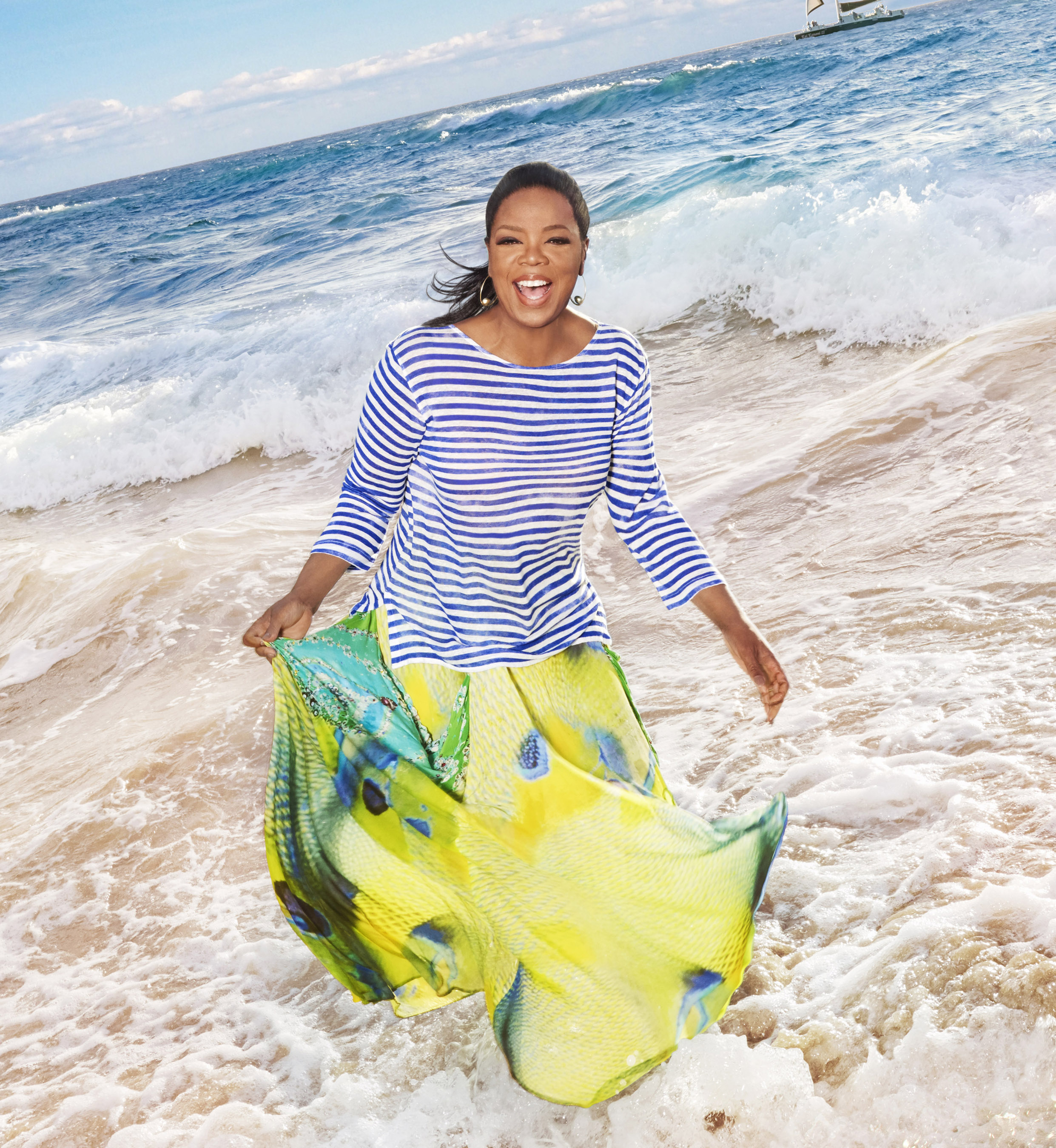 O, The Oprah Magazine Sets Sail on a Girls' Getaway