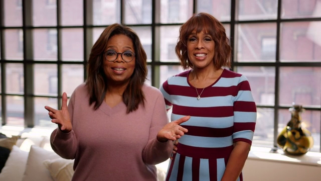 Oprah and Gayle's Godmother and Girls' Getaway Announcement