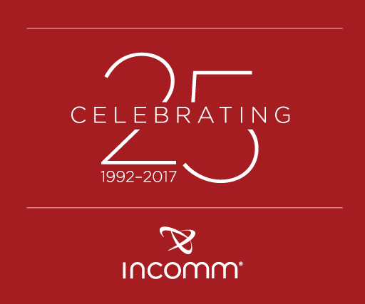 InComm 25 Years Logo