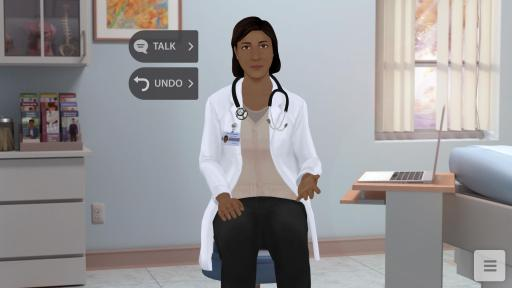 Screenshot of virtual tool Tina