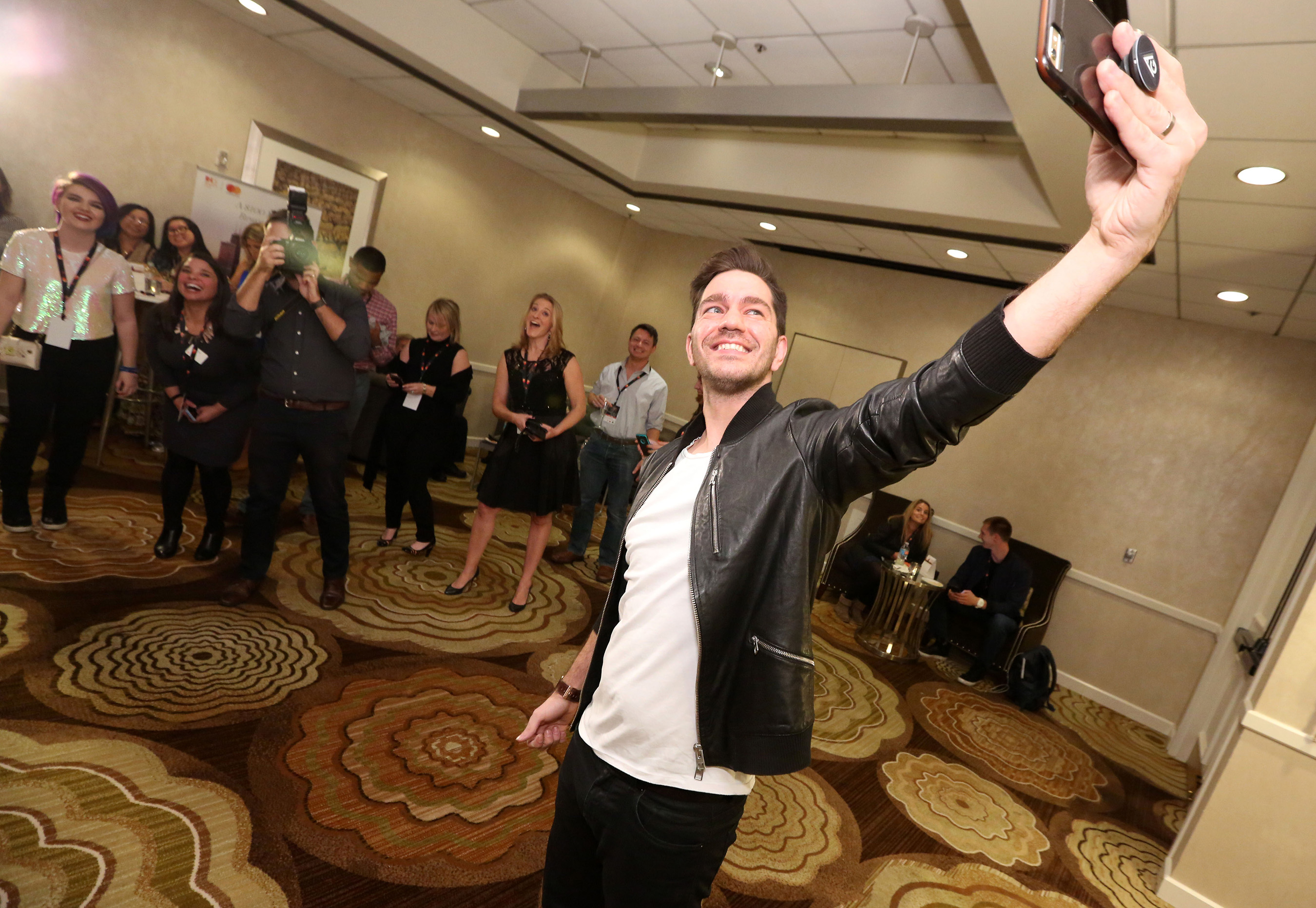 Andy Grammer joined IHG Rewards Club® to kick-off the brand's new Priceless Experiences campaign that brings members the excitement of the unexpected this winter.