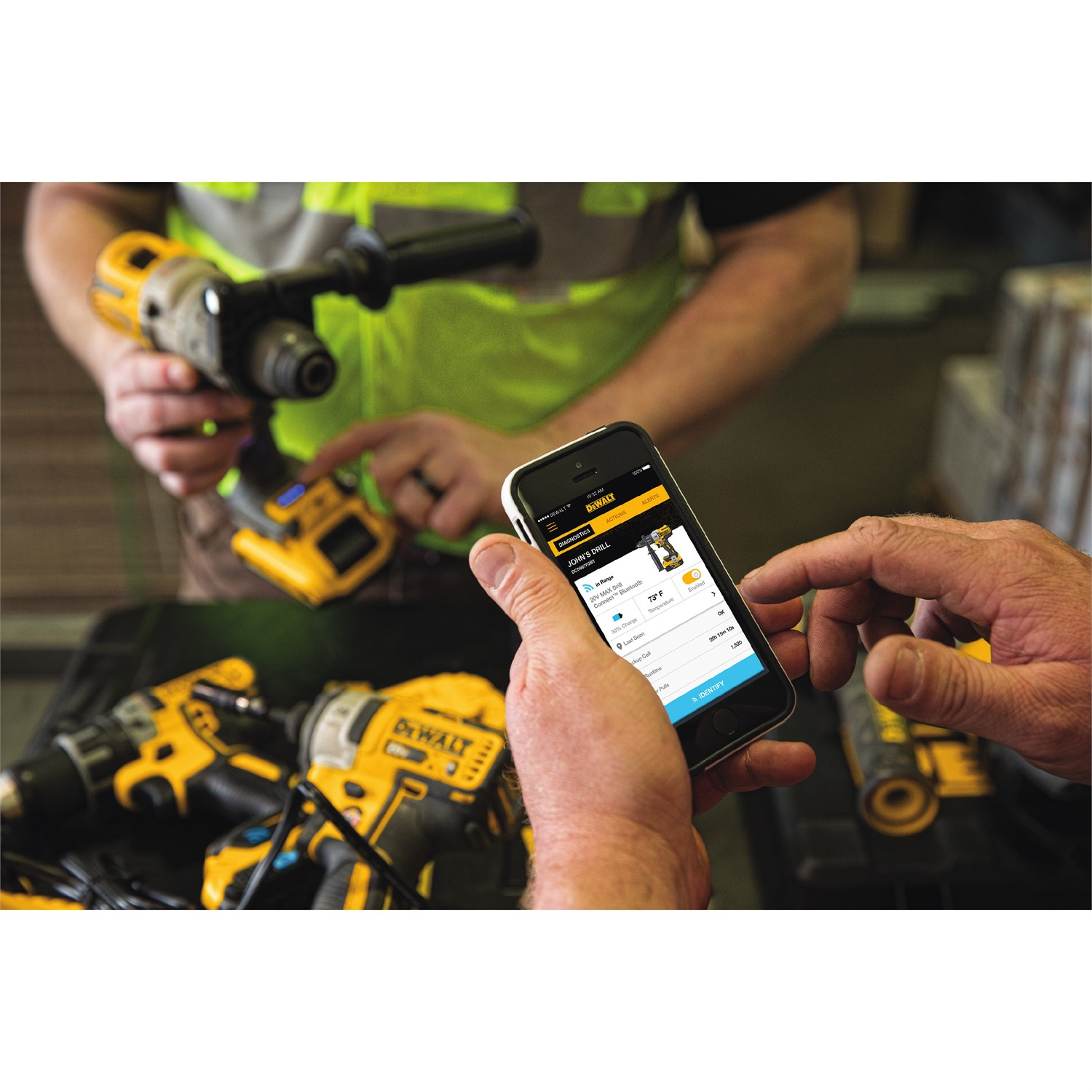 DEWALT® Announces Tool Connect™ Inventory Management System