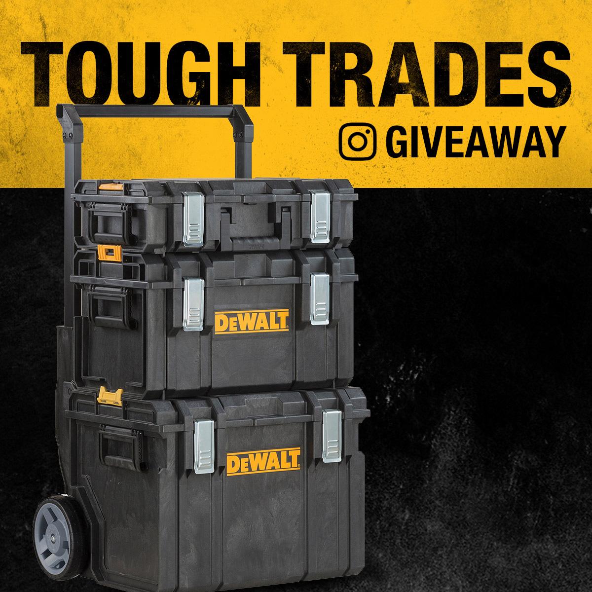 DEWALT Tough Trades Giveaway