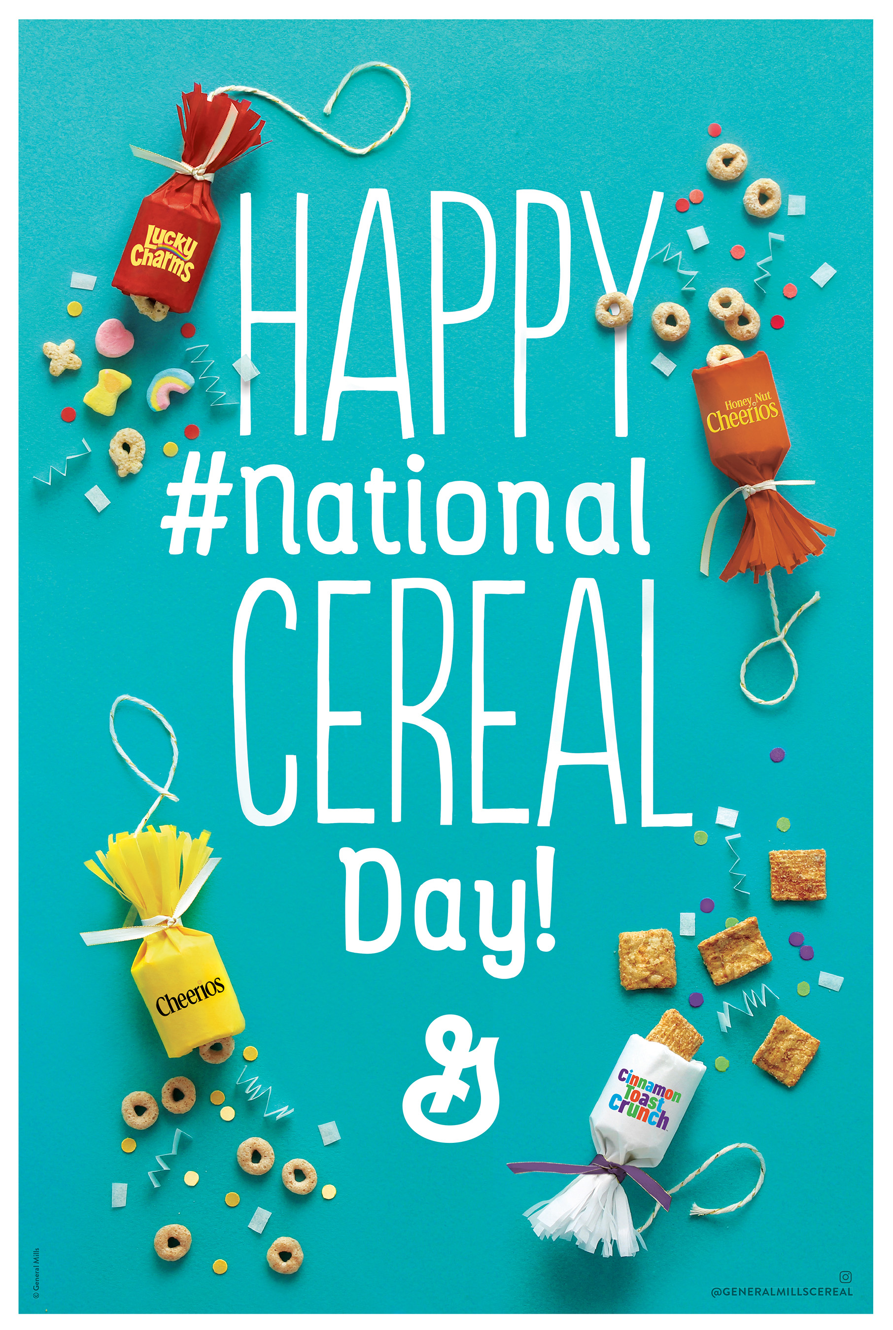 "It's National Cereal Day! Learn about cereal eating trends, shapes and the ""right"" way to enjoy America's most popular breakfast."