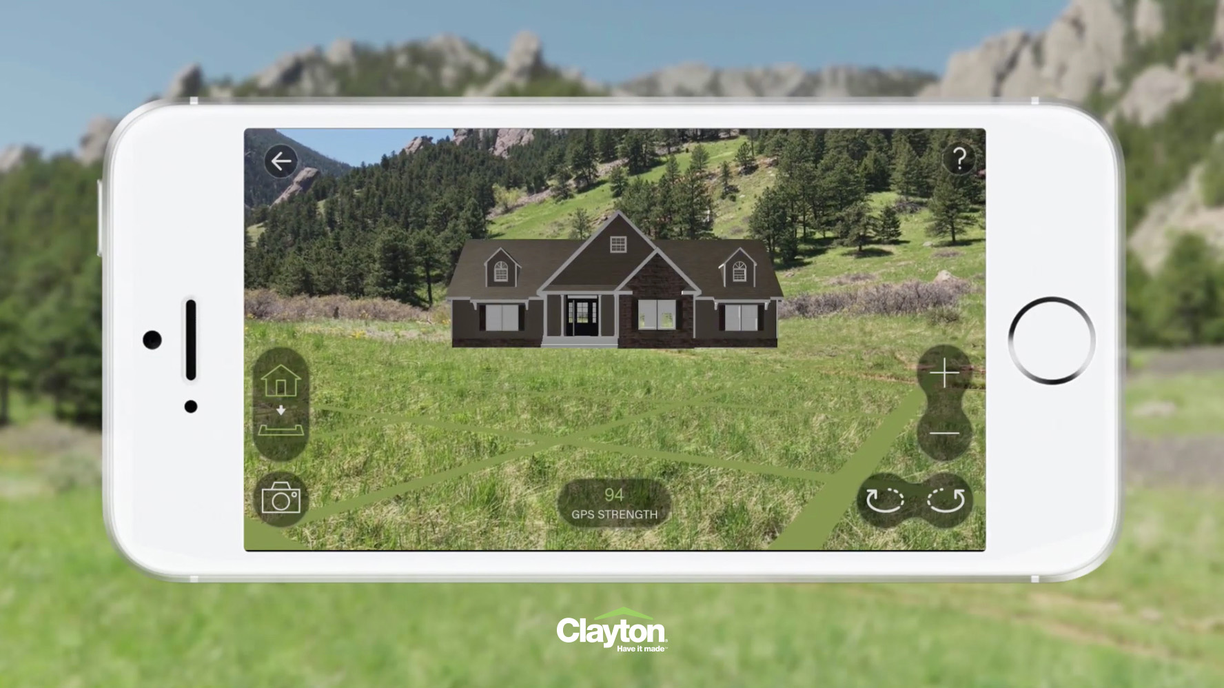 Preview what a home would look like on your future home site by positioning it in 3D