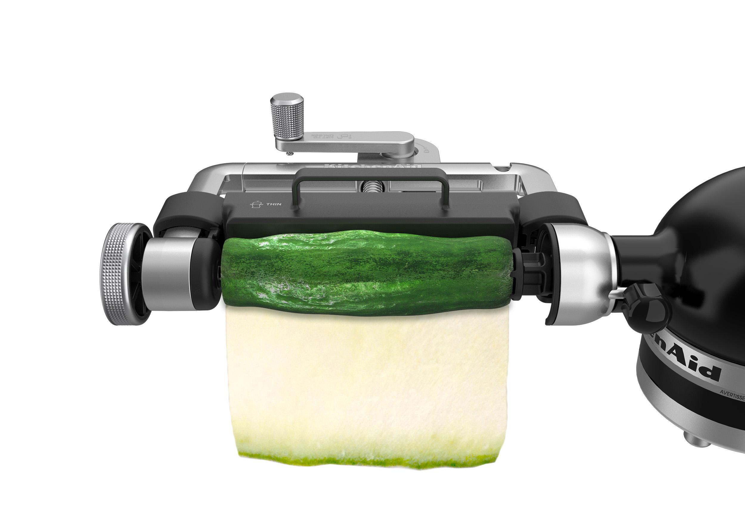 kitchenaid vegetable sheet cutter. new kitchenaid® vegetable sheet cutter attachment kitchenaid t