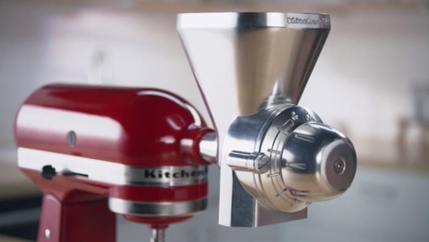 new attachments help make kitchenaid stand mixer a true centeru201d