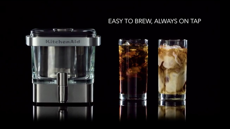 New KitchenAid® Cold Brew Coffee Maker Makes Home Brewing A Breeze   CBS  News 8   San Diego, CA News Station   KFMB Channel 8