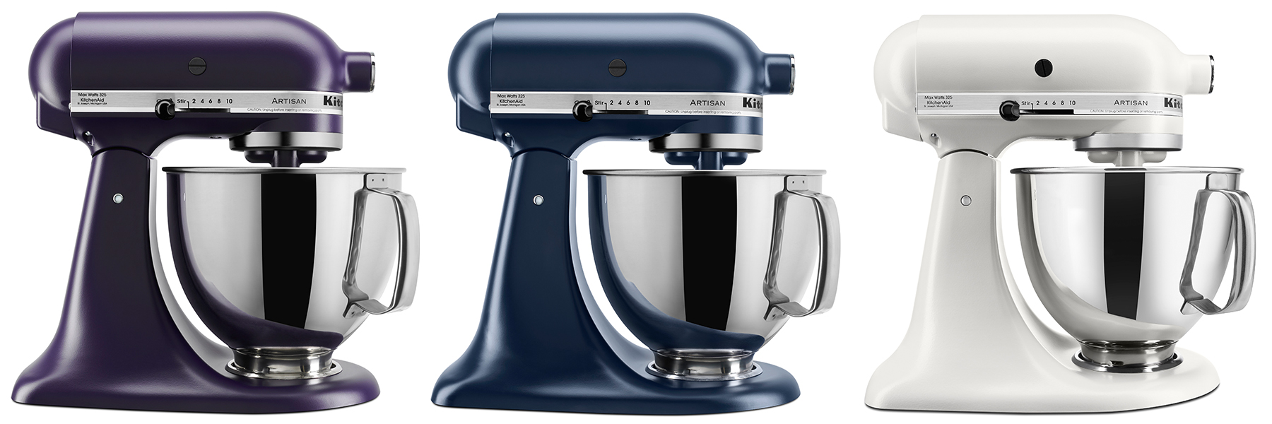 KitchenAid® New Stand Mixer Colors