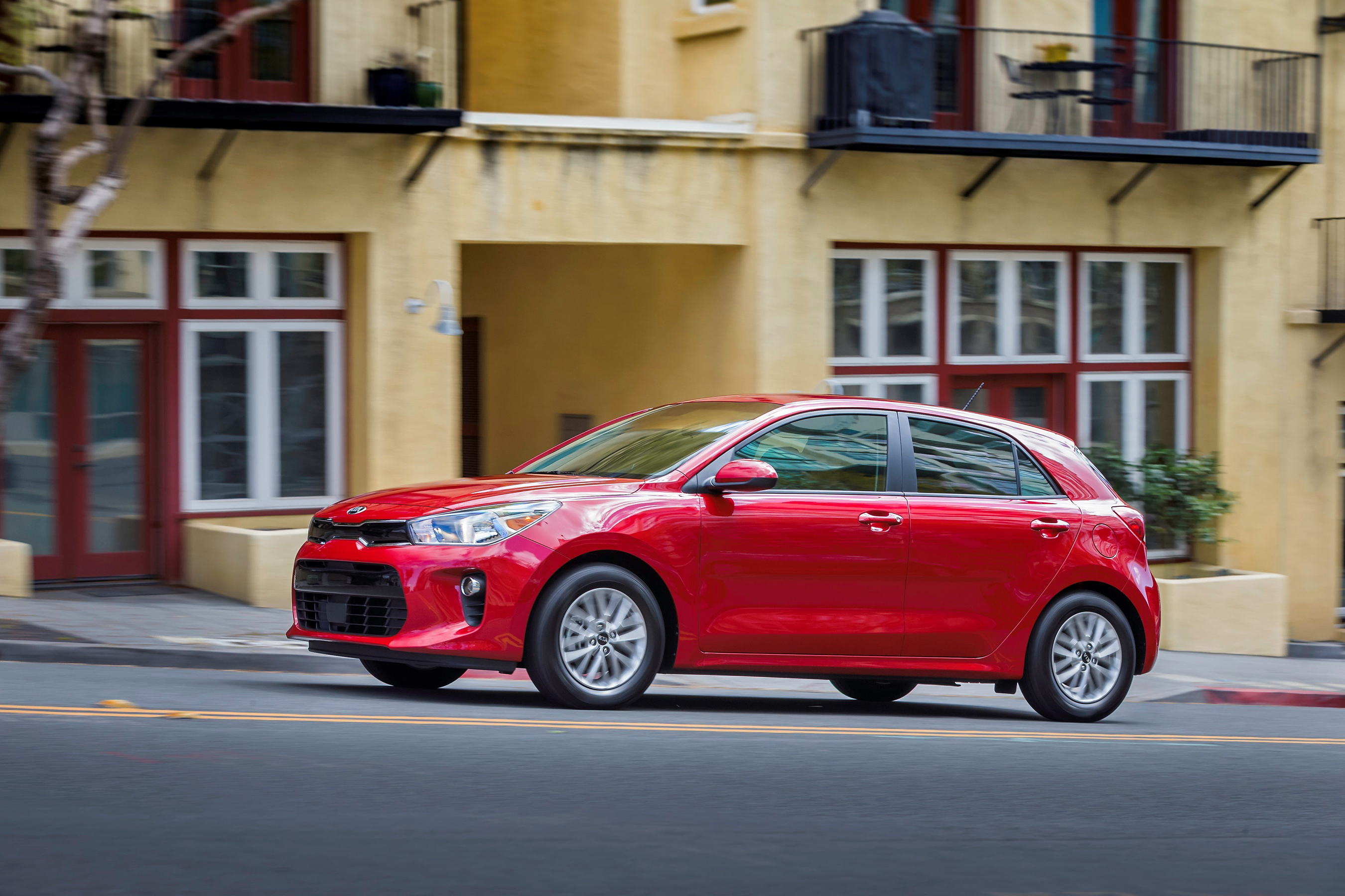 All-new 2018 Kia Rio subcompacts will bring an exciting combination of impressive fuel efficiency, advanced safety features, everyday convenience and fun-to-drive character.