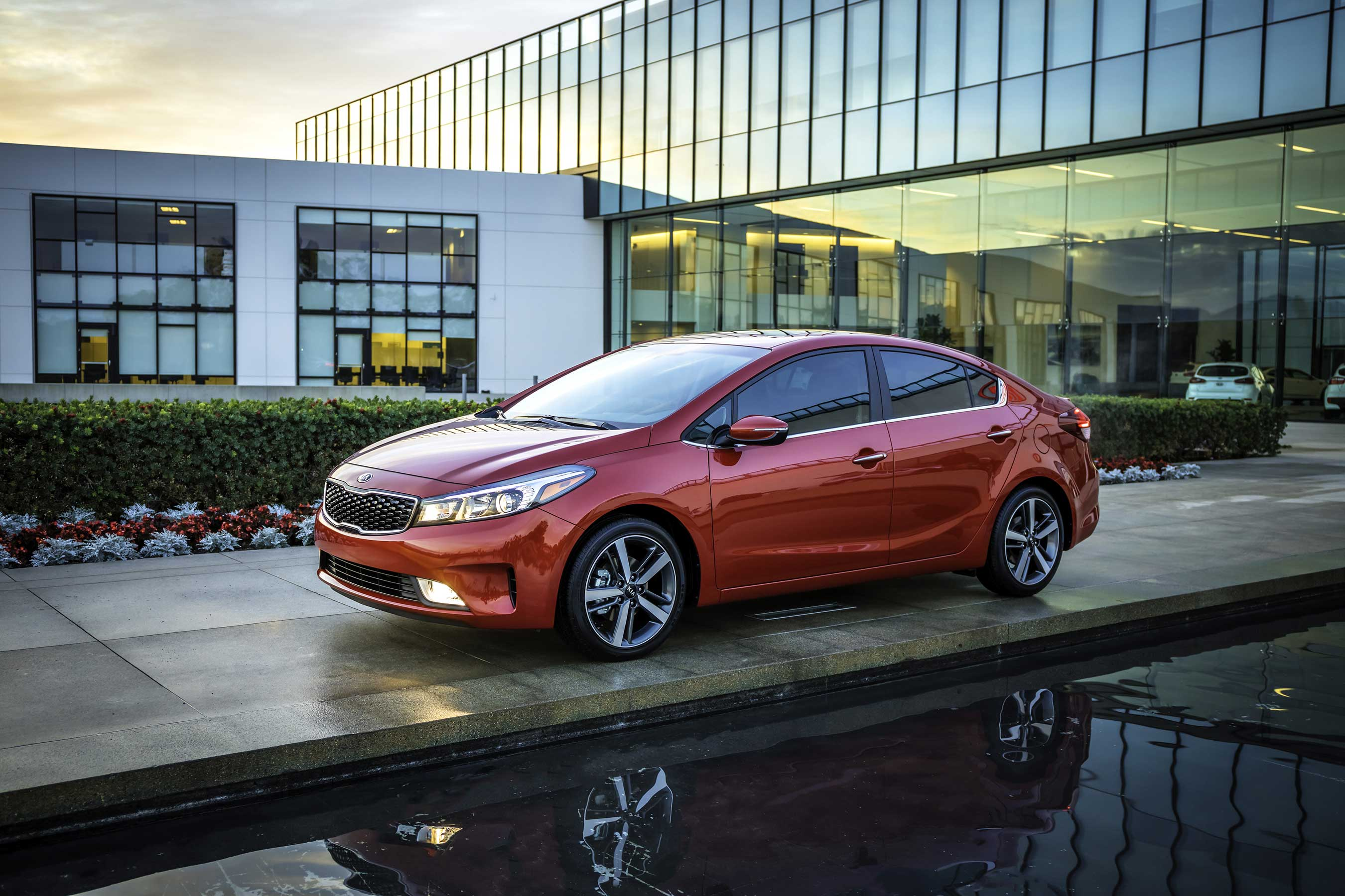 Kia Forte earns the J.D. Power Initial Quality Study (IQS) award in the Compact Car segment.
