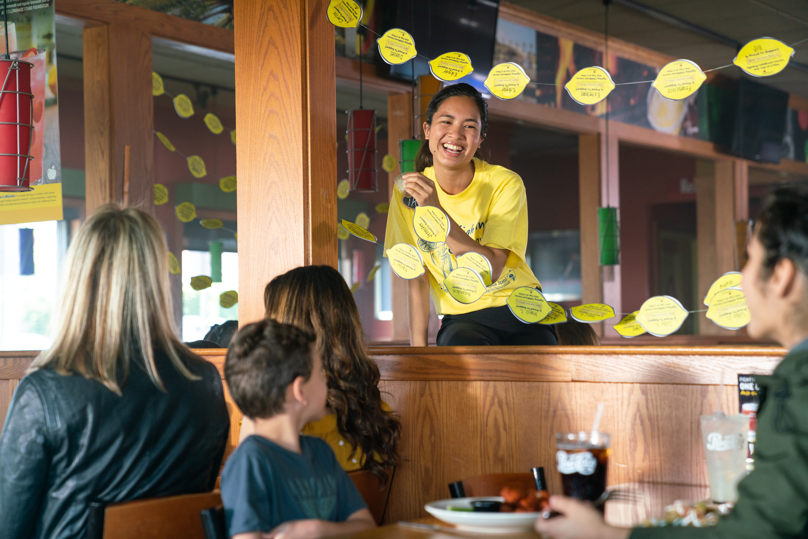 Now through Sunday, August 12, more than 1,050 participating Applebee's restaurants aim to raise $1 million for Alex's Lemonade Stand Foundation.