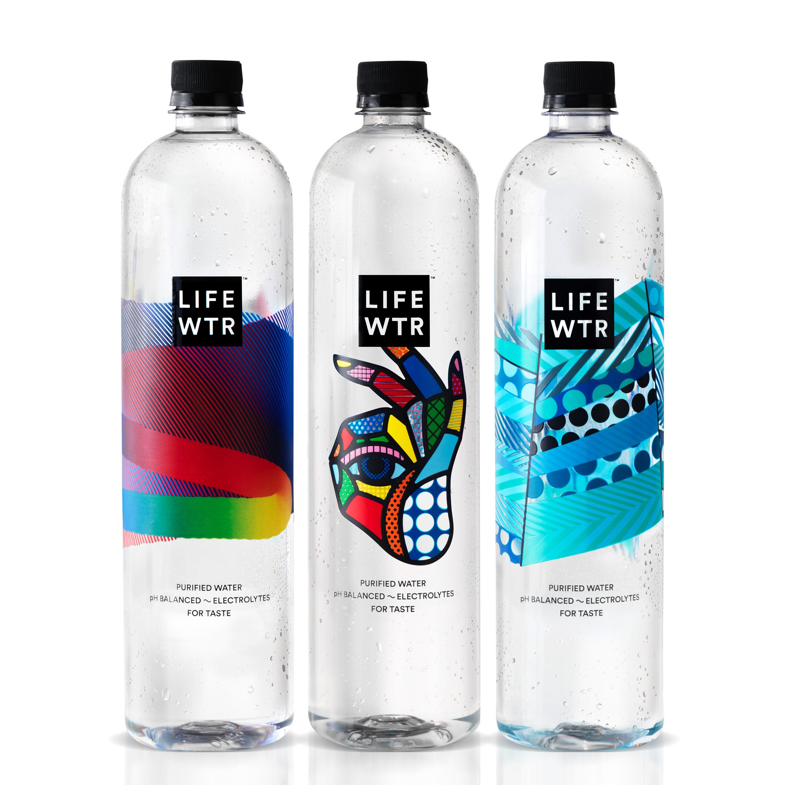 LIFEWTR: Bottles