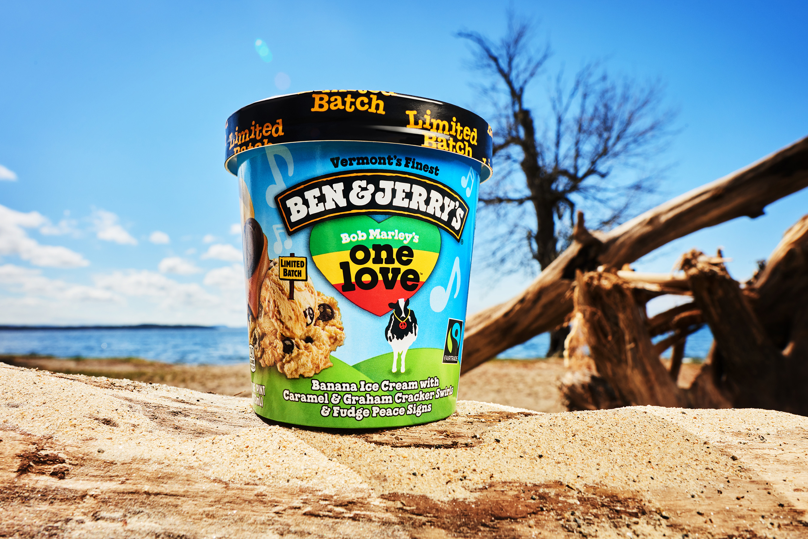 Ben & Jerry's Celebrates Bob Marley's Legacy with New One Love Flavor