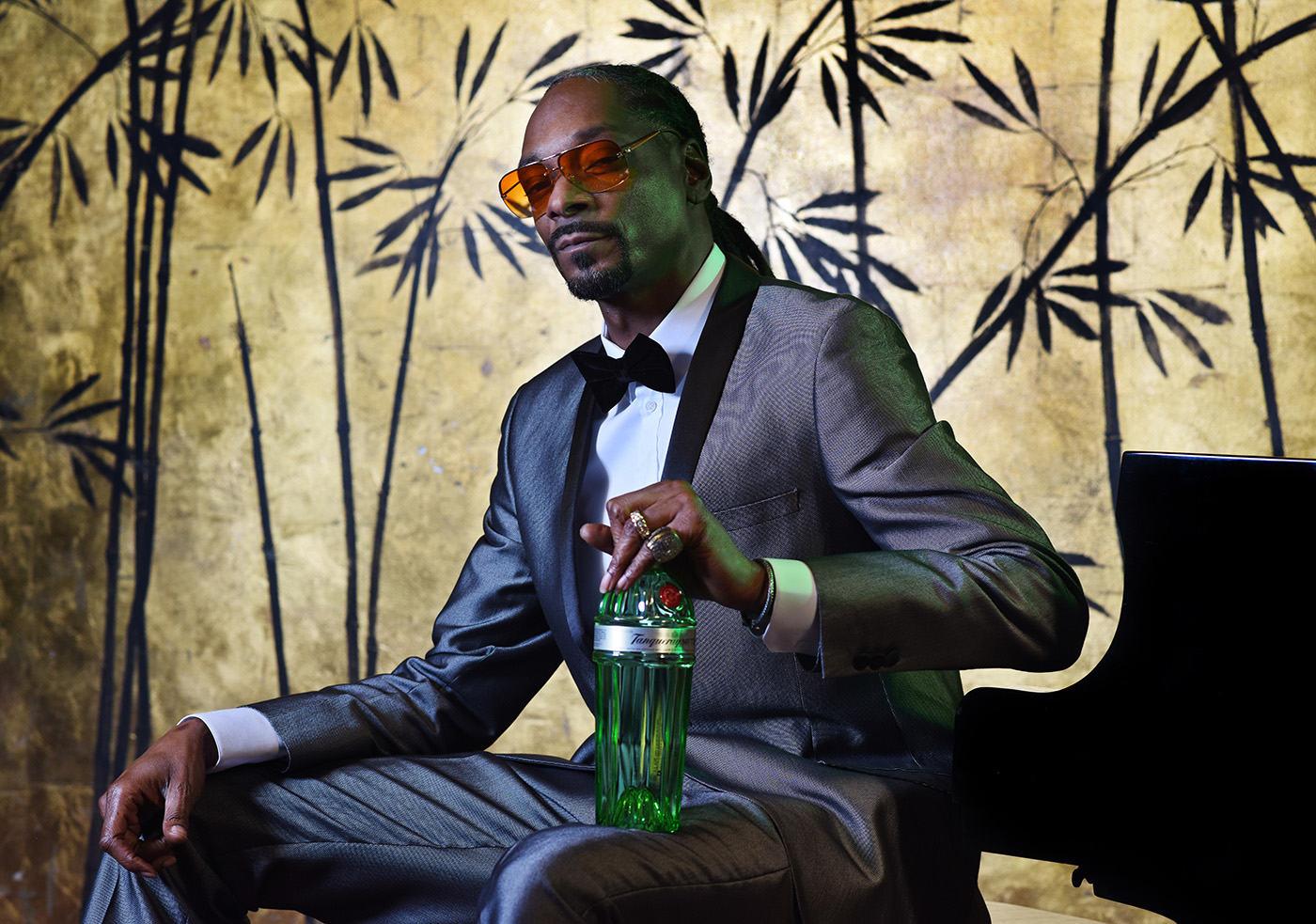 Tanqueray Brand Ambassador and creative partner Snoop Dogg celebrates the launch of 'The Tanqueray TEN'