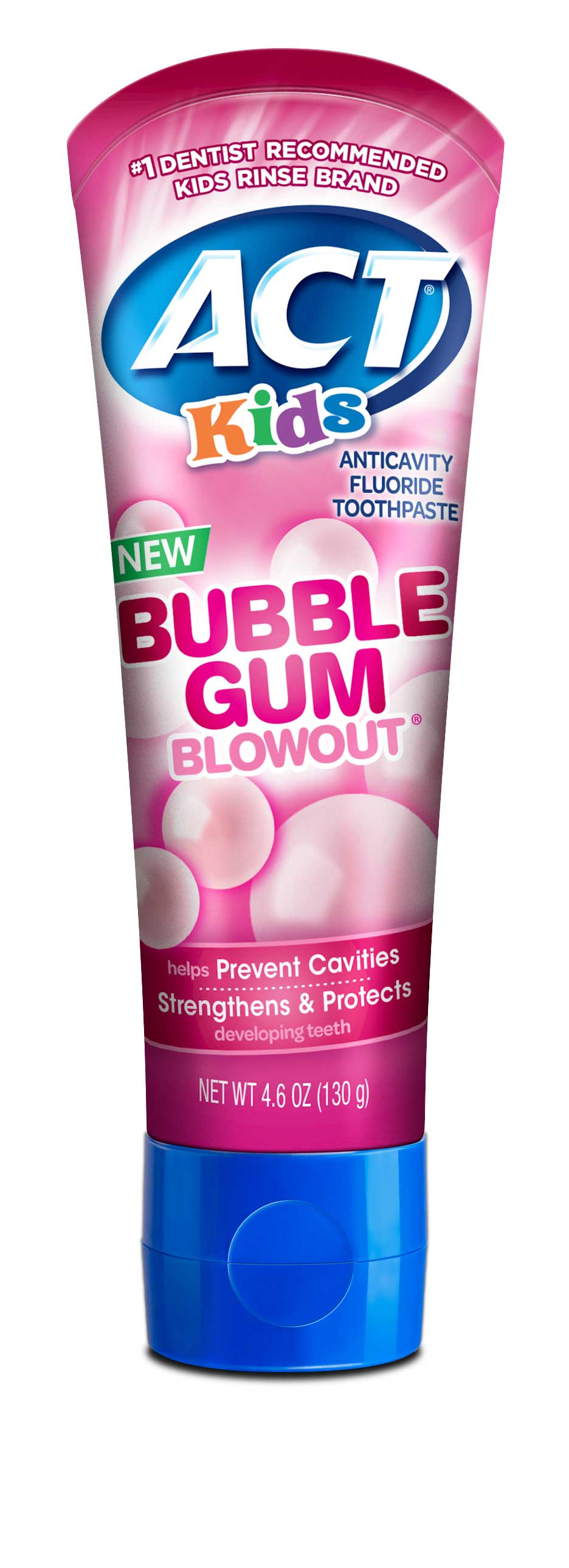 ACT Kids Toothpaste (Bubble Gum)