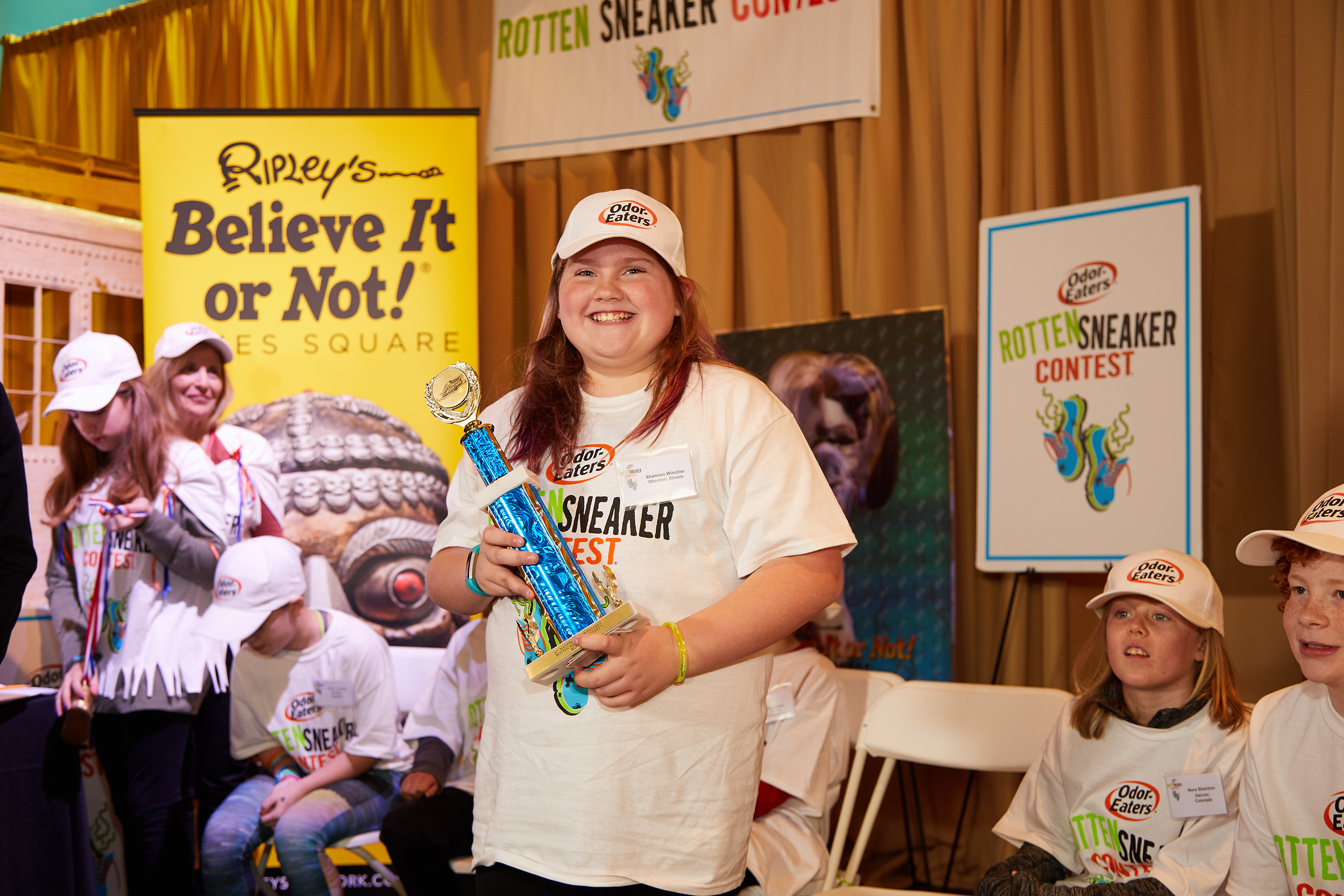 Connor Slocombe From Eagle River, AK Wins The 2017 National Odor-Eaters® Rotten Sneaker Contest®