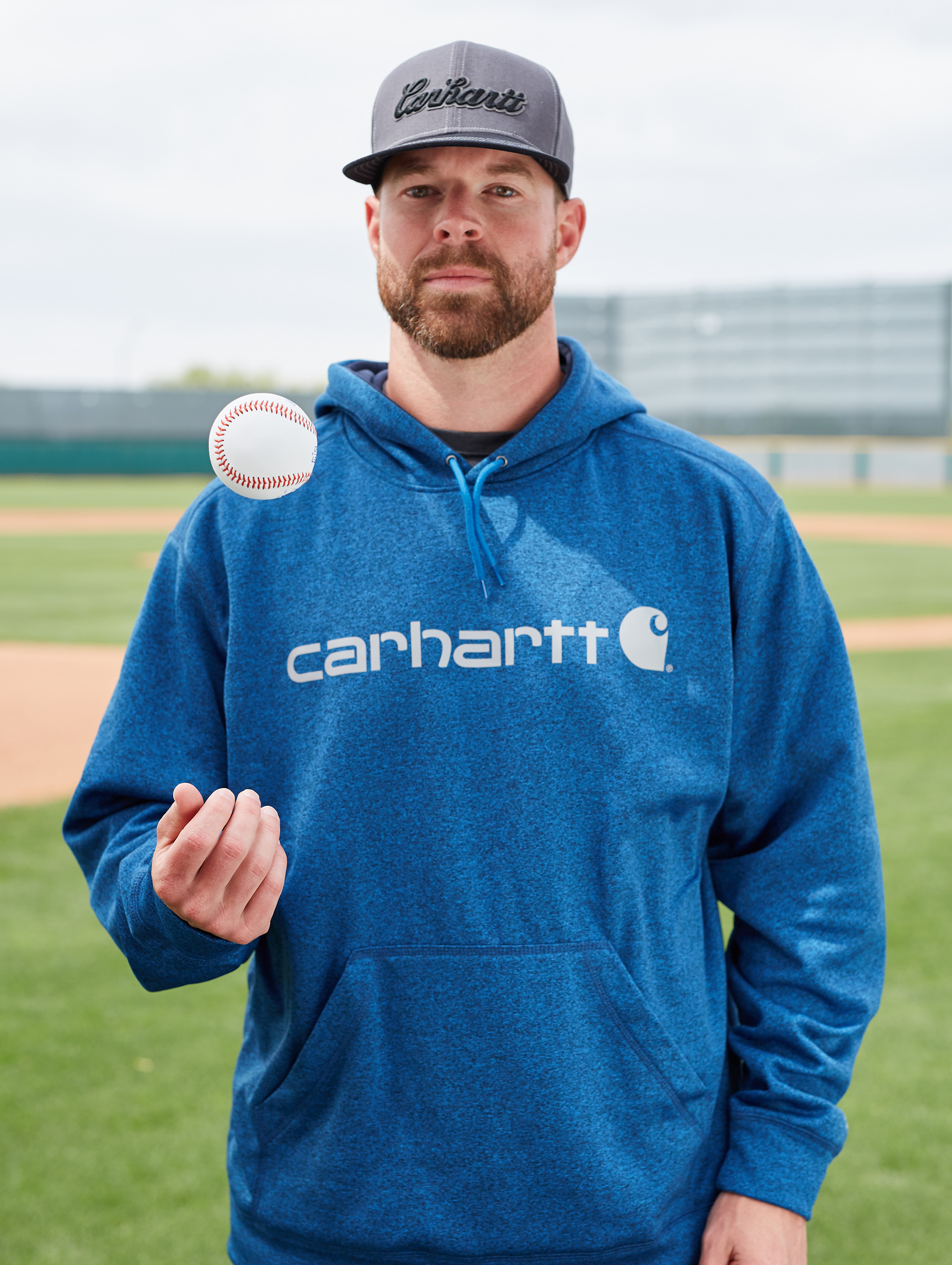As a member of the 2017 Carhartt Starting Rotation, Corey Kluber will help support Helmets to Hardhats by raising $100 for the organization for each strikeout he records during the 2017 baseball season.