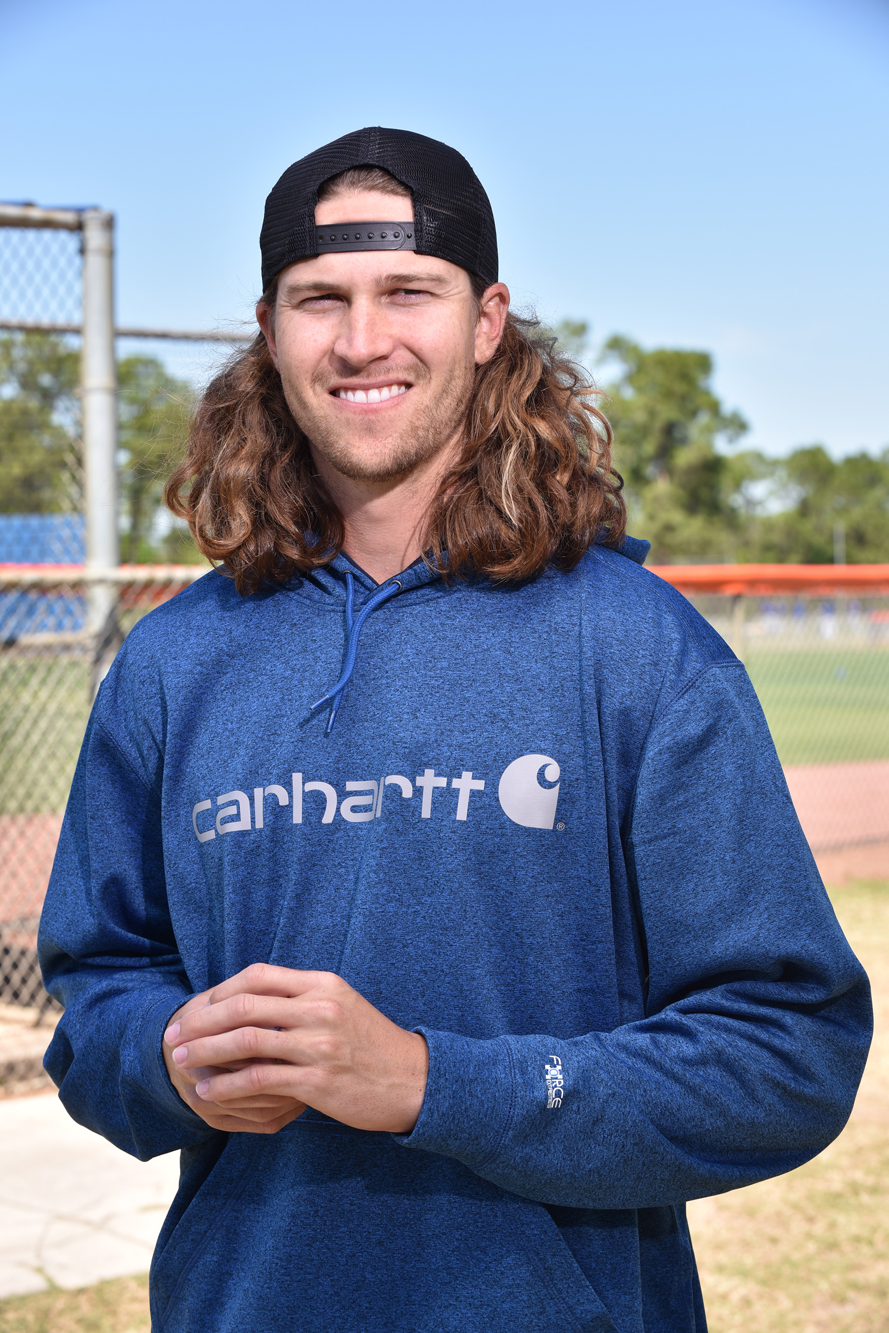 As a member of the 2017 Carhartt Starting Rotation, Jacob deGrom will help support Helmets to Hardhats by raising $100 for the organization for each strikeout he records during the 2017 baseball season.