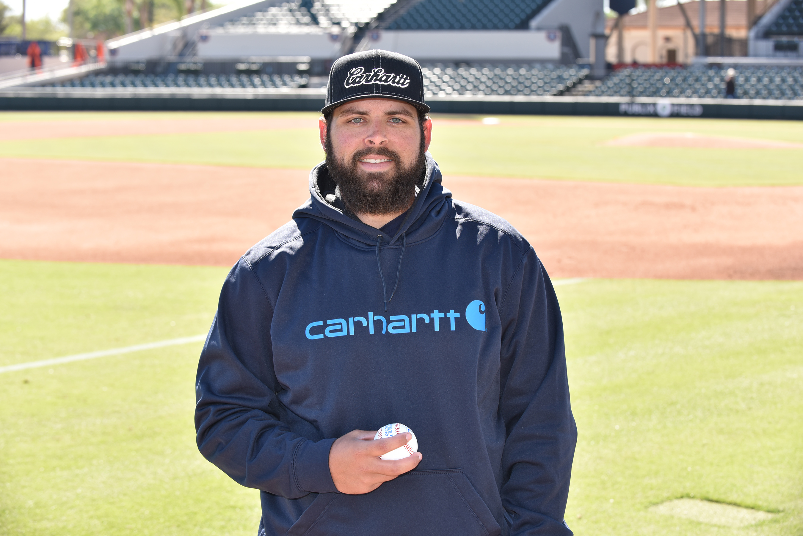 As a member of the 2017 Carhartt Starting Rotation, Michael Fulmer will help support Helmets to Hardhats by raising $100 for the organization for each strikeout he records during the 2017 baseball season.