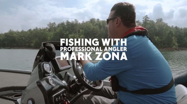 Professional angler and T.V. personality Mark Zona shares the story of his first memory of fishing with his dad and the moment years later when he handed fishing poles to his sons.