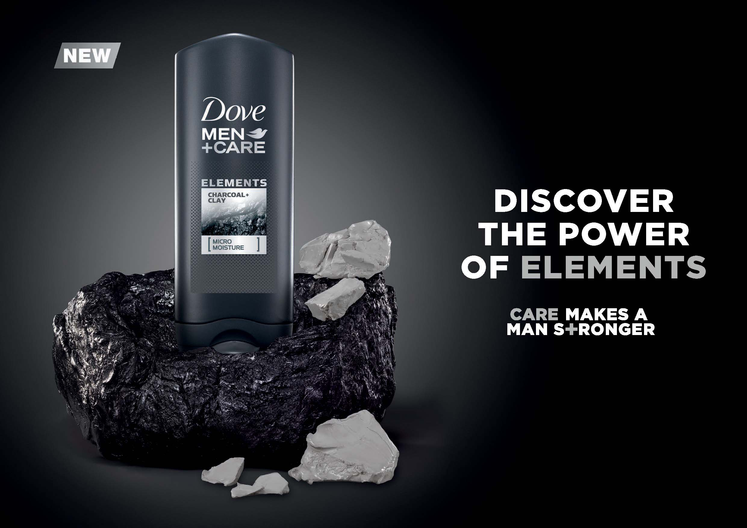 Dove Men Care Introduces New Elements Range To Bring A Boost Of Freshness To Men